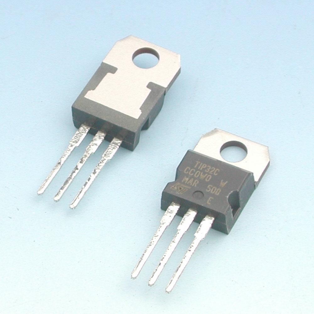 STMICROELECTRONICS SI-P 100V 3A 40W TIP32C